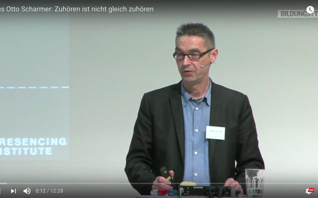 Zuhören ist nicht gleich Zuhören – ein Video von Otto Scharmer